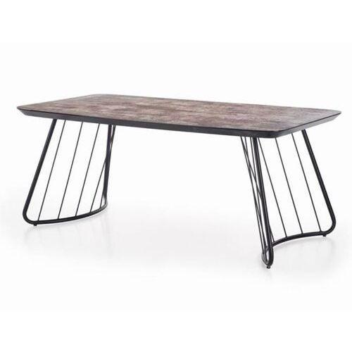 Dover stół loftowy ciemny popiel/czarny marki Style furniture