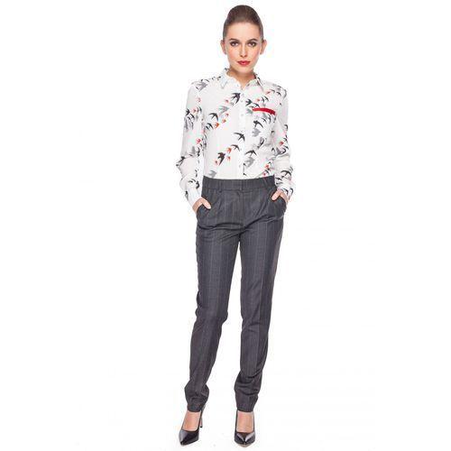 Koszula z grafiką jaskółek - Duet Woman