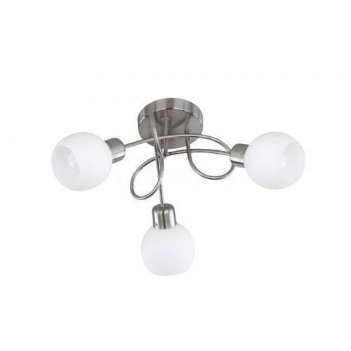 Trio -leuchten freddy lampa sufitowa led nikiel matowy, 3-punktowe - nowoczesny - obszar wewnętrzny - freddy - czas dostawy: od 3-6 dni roboczych