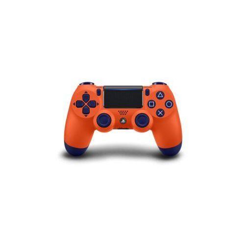 Kontroler bezprzewodowy sony playstation dualshock 4 v2 pomarańczowo-granatowy marki Sony interactive entertainment