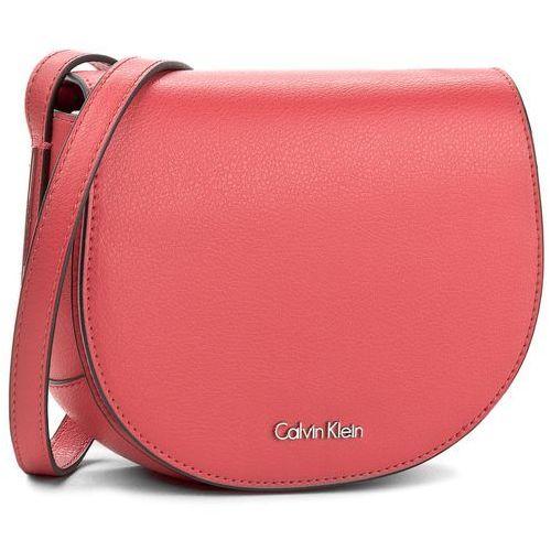Torebka CALVIN KLEIN BLACK LABEL - Frame Saddle Bag K60K603982 618, kolor czerwony