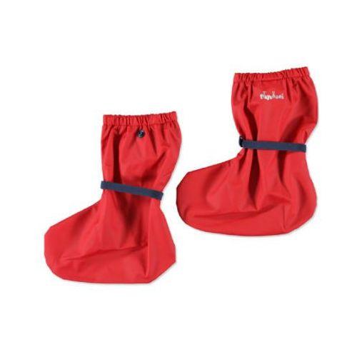 przeciwdeszczowe osłonki na buty kolor czerwony marki Playshoes