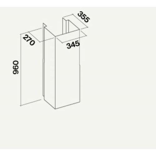 Komin do okapu inox kacl.576#i - specjalistyczny sklep - 28 dni na zwrot - raty 0% marki Falmec