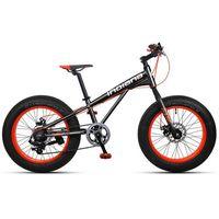 """Rower INDIANA Fat Bike 20"""" Czarno-Pomarańczowy + DARMOWY TRANSPORT! sprawdź szczegóły w ELECTRO.pl"""