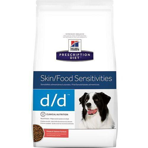 Hill's pd prescription diet canine d/d łosoś i ryż 12kg - 12000 marki Hills prescription diet