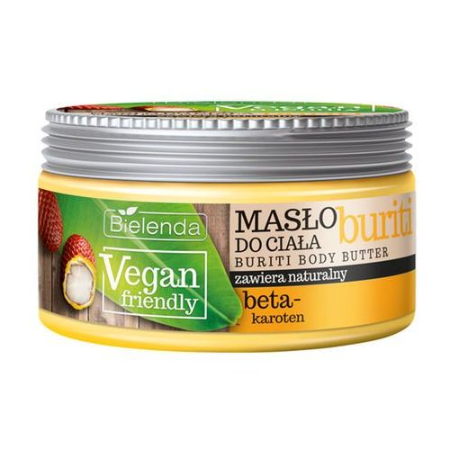 Bielenda vegan friendly buriti masło do ciała (with beta-carotene) 250 ml (5902169022471)