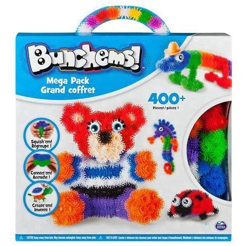 Spin master bunchems kolorowe rzepy megazestaw 400+ - miś i biedronka