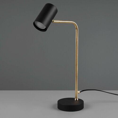 Trio marley 512400108 lampa stołowa lampka 1x35w gu10 mosiądz mat (4017807488753)