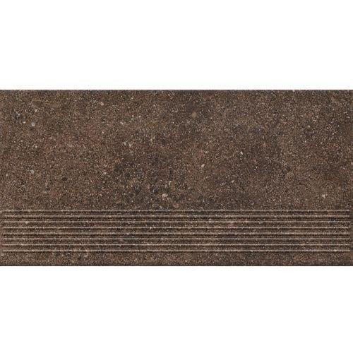 Ceramika paradyż stopnica brązowa granitos 30 cm x 60 cm (5902610572166)