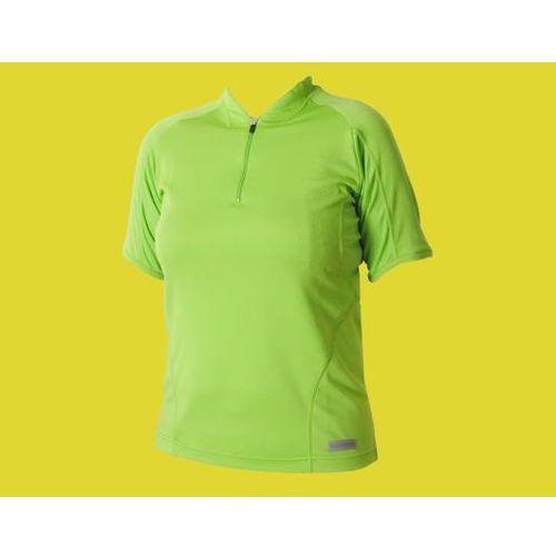 Koszulka damska SHIMANO zielona M, kolor zielony