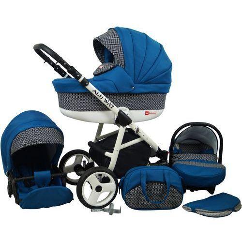 Sun Baby Wózek wielofunkcyjny Alu way 3w1, indygo