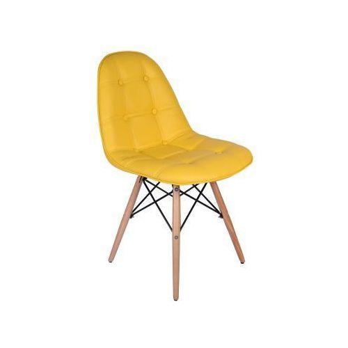 Krzesło Lyon - żółty, GK-0752