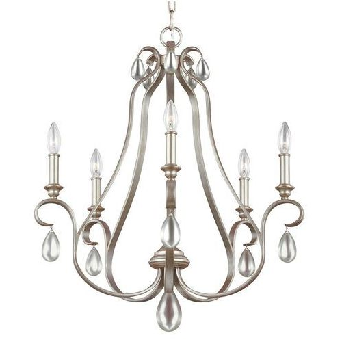Lampa wisząca DEWITT 5 FE/DEWITT5 - Elstead Lighting - Rabat w koszyku (5024005281016)