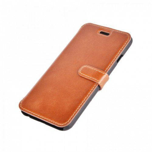 LEATHER SAMSUNG GALAXY ACE 4 LEATHER BROWN BOOK CASE
