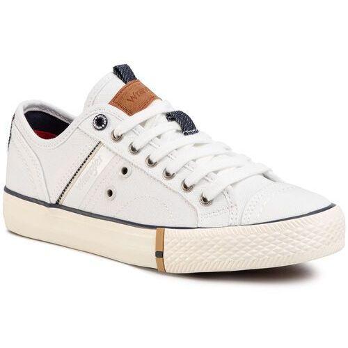 Tenisówki WRANGLER - Globe Lady S WL01661S White 051, kolor biały