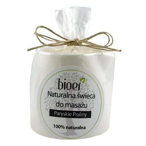 Bioer Naturalna świeca shea do masażu - paryskie praliny - 130ml -