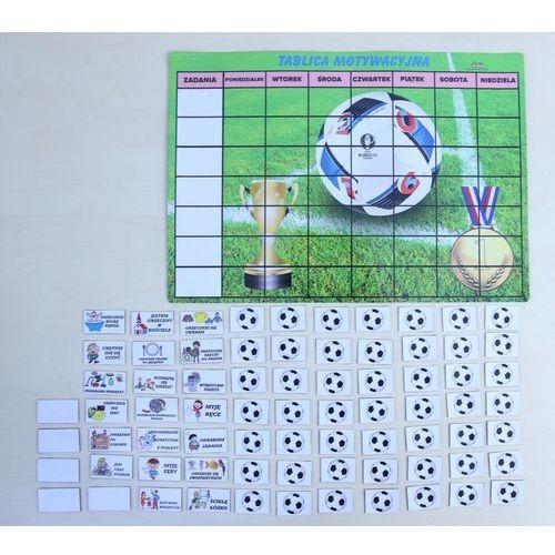 Bystra sowa Magnetyczna tablica motywacyjna - piłkarska przygoda