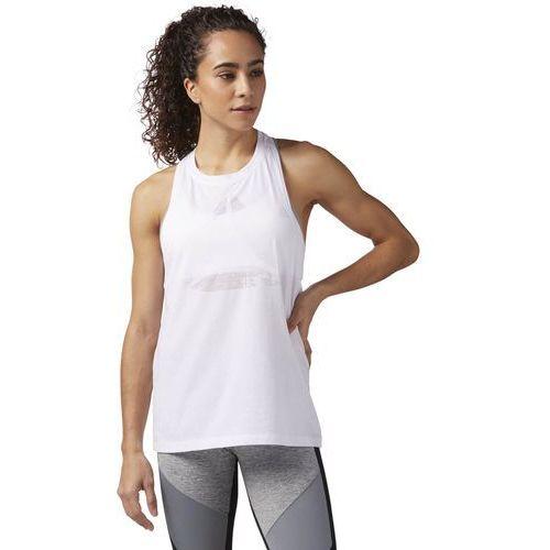 Koszulka Reebok Burnout CF5875, kolor biały