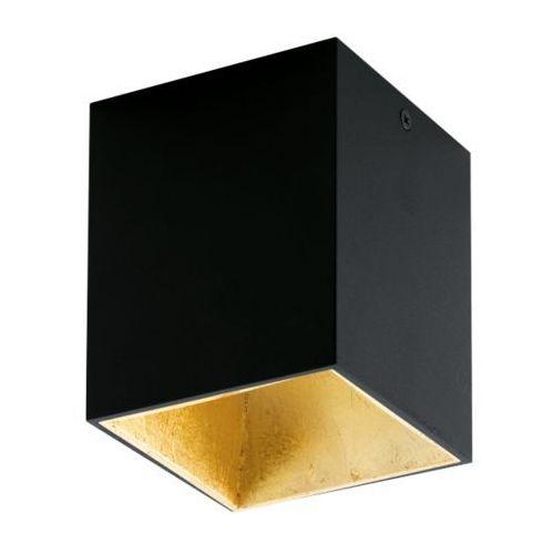 Lampa sufitowa polasso czarno/złota, 94497 marki Eglo