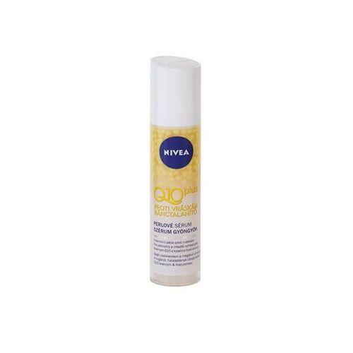 Nivea Q10 Plus wygładzające serum do twarzy przeciw zmarszczkom (With Coenzyme Q10, Creatine and Hyaluronic Acid) 40 ml