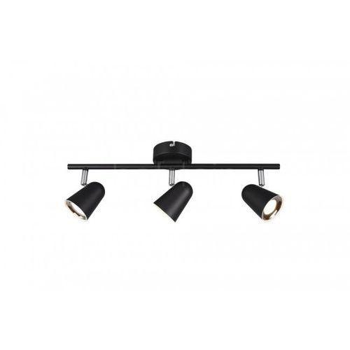 Lampa sufitowa Reality TOULOUSE LED Czarny, 3-punktowe - Nowoczesny - Obszar wewnętrzny - TOULOUSE - Czas dostawy: od 3-6 dni roboczych (4017807425178)