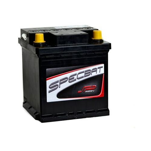 Akumulator SPECBAT 45Ah 350A EN Kostka PRAWY PLUS