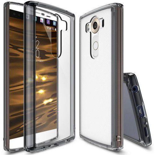 RINGKE FUSION LG V10 SMOKE BLACK - produkt z kategorii- Futerały i pokrowce do telefonów