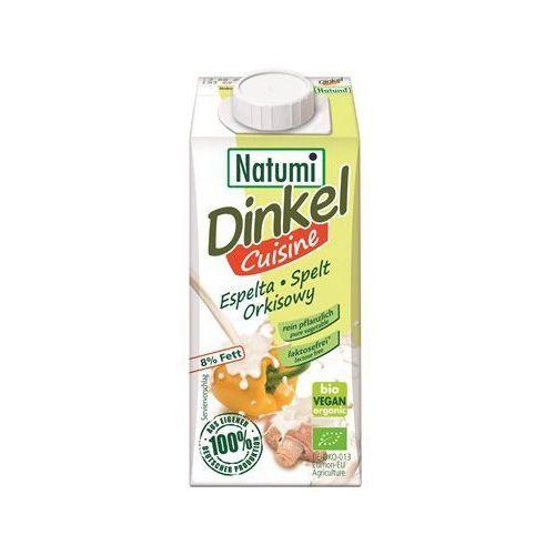 PRZECENA Zagęszczony produkt orkiszowy (śmietanka) BIO 200 ml Natumi