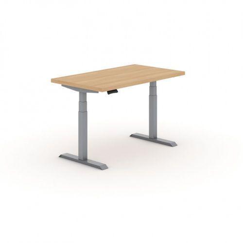Stół warsztatowy z regulacją wysokości, 2 silniki, 1500 x 800 mm