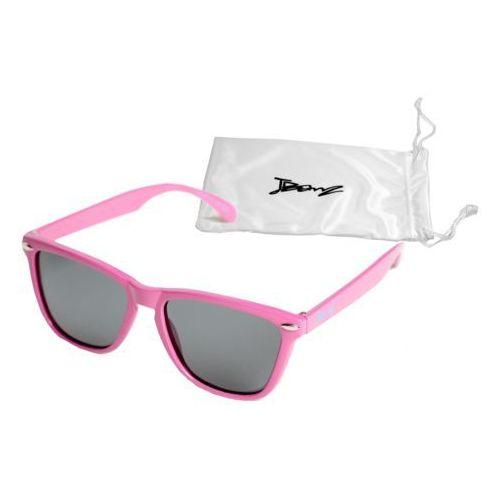 Okulary przeciwsłoneczne dzieci 4-10lat UV400 BANZ - Flyer Pink (9330696015578)