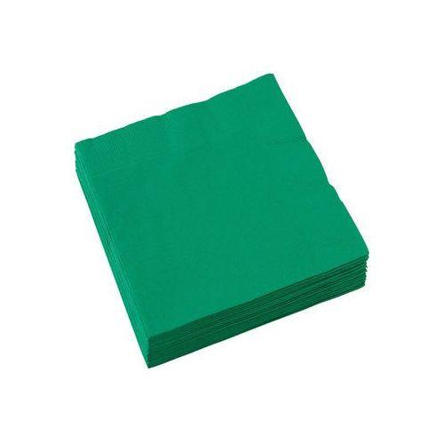 Serwetki zielone - 33 cm - 20 szt. marki Amscan