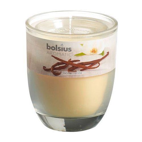 BOLSIUS 80/70 Wanilia Świeczka zapachowa w szkle (8717847057662)