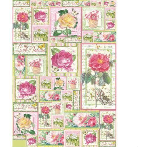 Papier klasyczny do decoupage 50x70 cm - 422 marki Stamperia