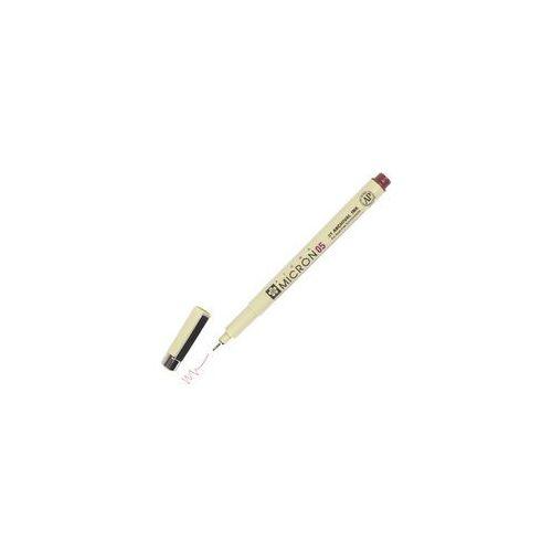 Bruynzeel/sakura Sakura pigma 05 micron cienkopis 22 burgundy 045mm
