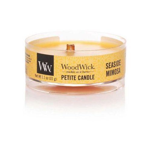 Woodwick - świeca petite seaside mimosa 15h