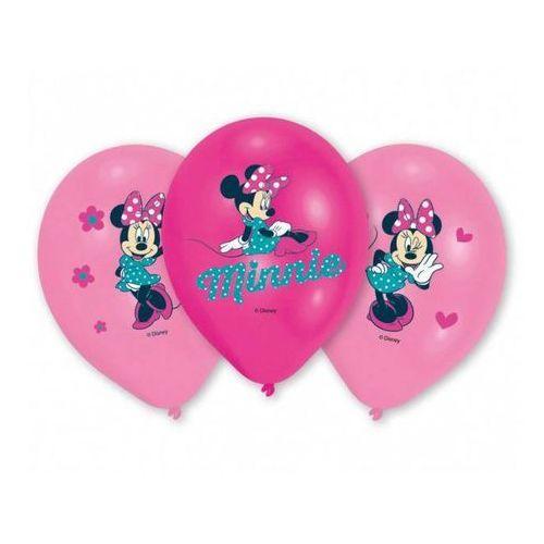 Balony urodzinowe Myszka Minnie - 27 cm - 6 szt, BGNP/8994-A