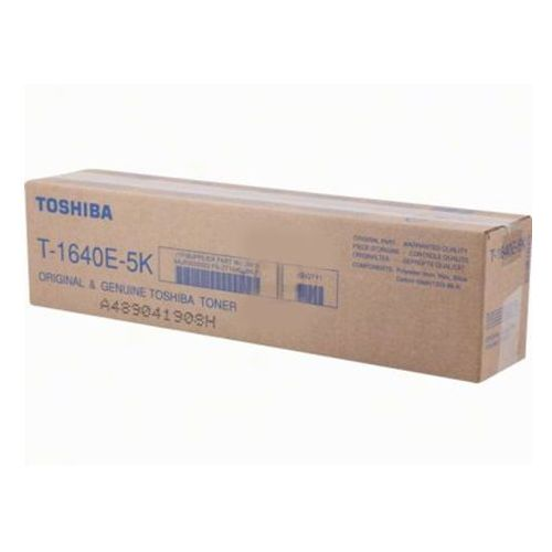 Toner t-1640e5k czarny do kopiarek toshiba (oryginalny) [5k] marki Toshiba