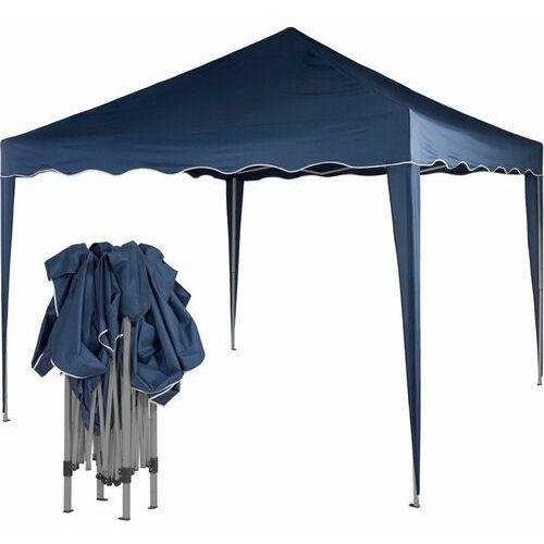 Ekspresowy niebieski pawilon namiot ogrodowy 3x3m - niebieski (odcień granatowy) marki Instent ®