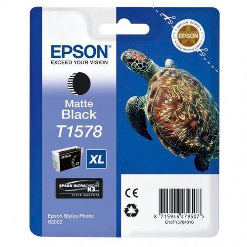 Epson oryginalny ink C13T15784010, matte black, 25,9ml, Epson Stylus Photo R3000, kup u jednego z partnerów