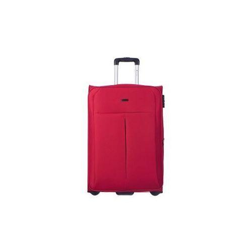 PUCCINI walizka średnia z kolekcji LATINA miękka 2 koła materiał Polyester zamek szyfrowy możliwość poszerzenia
