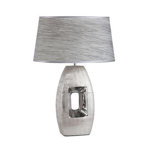 Lampa lampka stołowa Rabalux Leah 1x40W E27 srebrny 4388