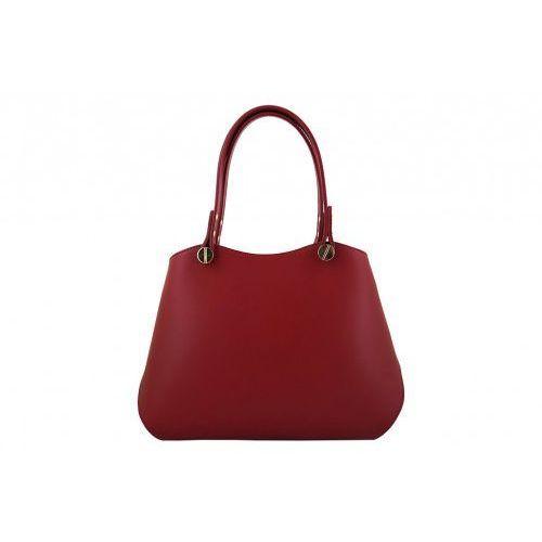 Torebki kuferki skórzane - - czerwony marki Barberini's