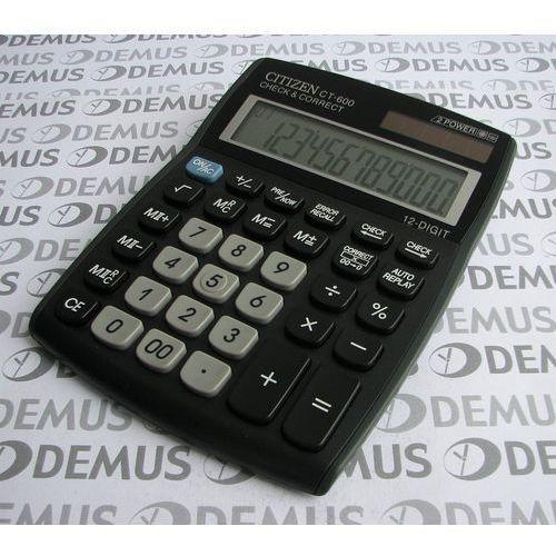 OKAZJA - Kalkulator Citizen CT 600J