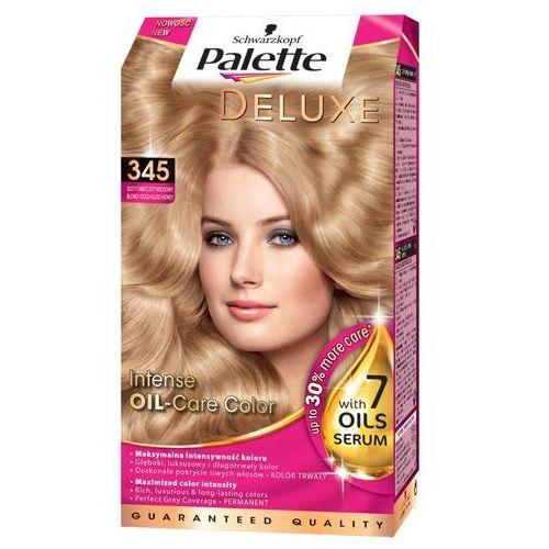 Palette deluxe farba do włosów złoty miodowy blond nr 345 1 op. - marki Schwarzkopf