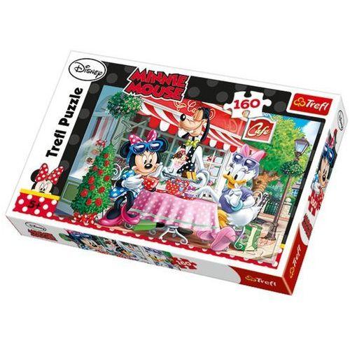 Trefl Puzzle 160 minnie i daisy w kawiarni (5900511152982)