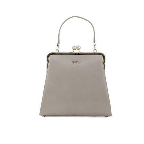 Szara torebka typu portmonetka - marki Franco bellucci