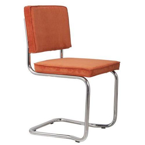 Zuiver Krzesło RIDGE KINK RIB pomarańczowe 19A 1100057