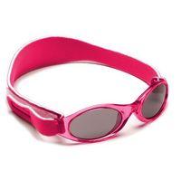 Okulary przeciwsłoneczne dzieci 2-5lat UV400 BANZ - Pink (9330696003650)
