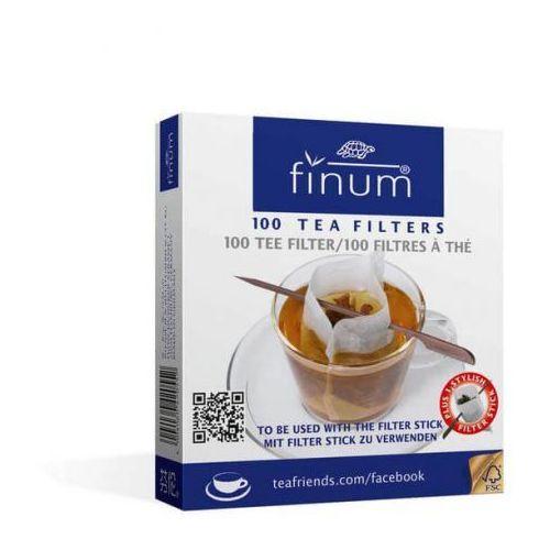 Finum filtry do herbaty 100 szt. + patyczek (4004060420552)
