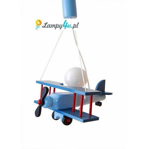 Prezent Lampa wisząca letadlo mała niebieski+ czerwony (5908218910034)